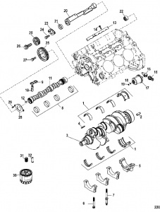 Capture X on Mercruiser Alpha One Parts Diagram