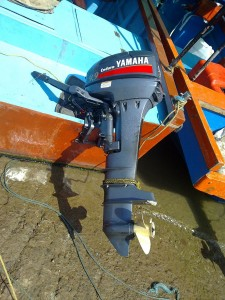 Boat engine disabled by rf device