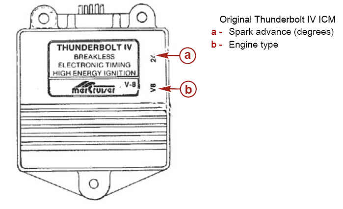 mercruiser ignition module | perfprotech.com thunderbolt ignition wiring diagram #11
