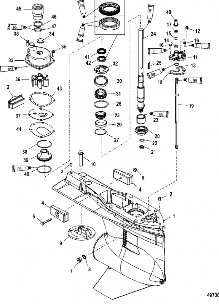 Outboard Motor Parts Diagram Impremedia Net