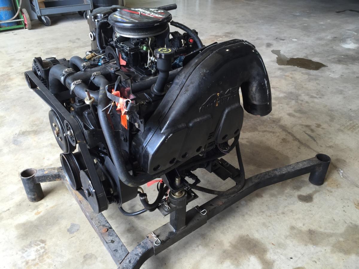 4 3 Liter Mercruiser Wiring Diagram : Mercruiser l v exhaust manifolds perfprotech
