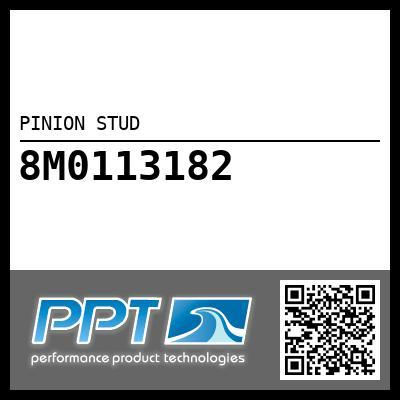 PINION STUD