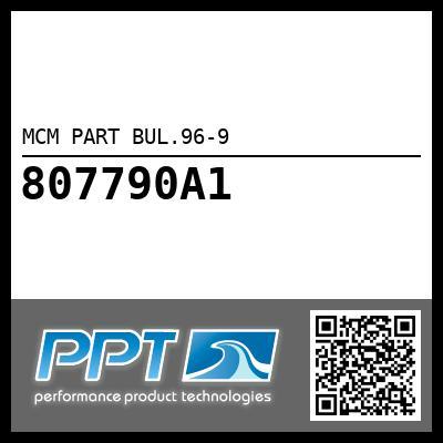 MCM PART BUL.96-9