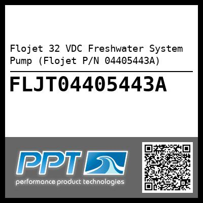 Flojet 32 VDC Freshwater System Pump (Flojet P/N 04405443A) - Click Here to See Product Details