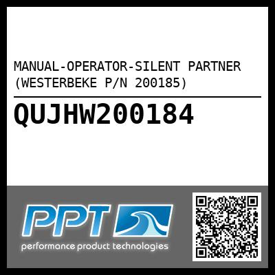 MANUAL-OPERATOR-SILENT PARTNER (WESTERBEKE P/N 200185) - Click Here to See Product Details