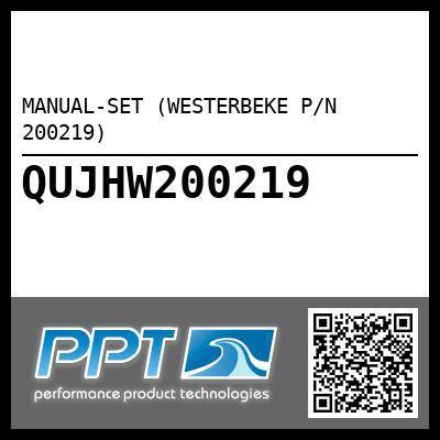MANUAL-SET (WESTERBEKE P/N 200219) - Click Here to See Product Details