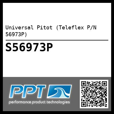 Universal Pitot (Teleflex P/N 56973P) - Click Here to See Product Details