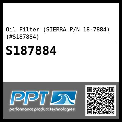 Oil Filter (SIERRA P/N 18-7884) (#S187884) - Click Here to See Product Details