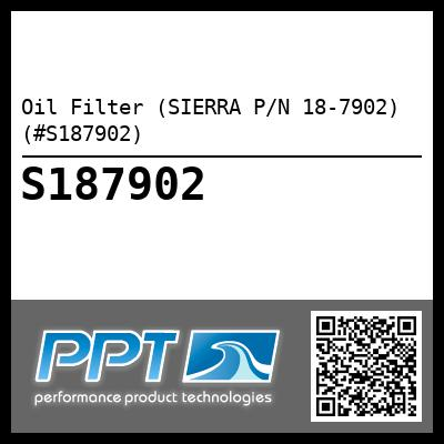 Oil Filter (SIERRA P/N 18-7902) (#S187902) - Click Here to See Product Details