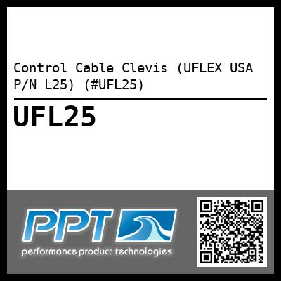 Control Cable Clevis (UFLEX USA P/N L25) (#UFL25) - Click Here to See Product Details