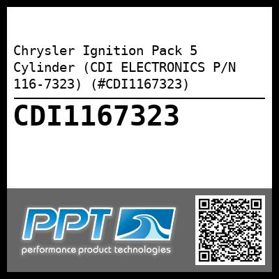 Chrysler Ignition Pack 5 Cylinder (CDI ELECTRONICS P/N 116-7323) (#CDI1167323) - Click Here to See Product Details