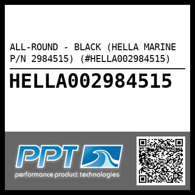 ALL-ROUND - BLACK (HELLA MARINE P/N 2984515) (#HELLA002984515) - Click Here to See Product Details
