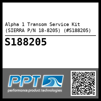 Alpha 1 Transom Service Kit (SIERRA P/N 18-8205) (#S188205) - Click Here to See Product Details