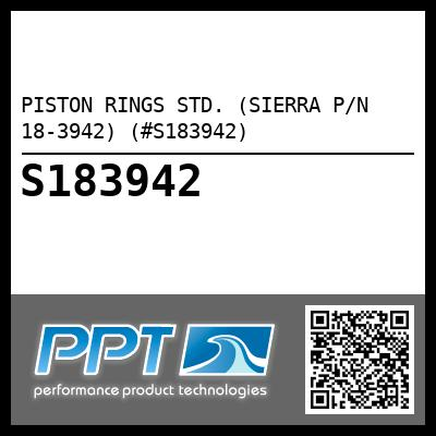 PISTON RINGS STD. (SIERRA P/N 18-3942) (#S183942) - Click Here to See Product Details