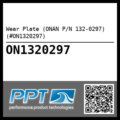 Wear Plate (ONAN P/N 132-0297) (#ON1320297) - Click Here to See Product Details
