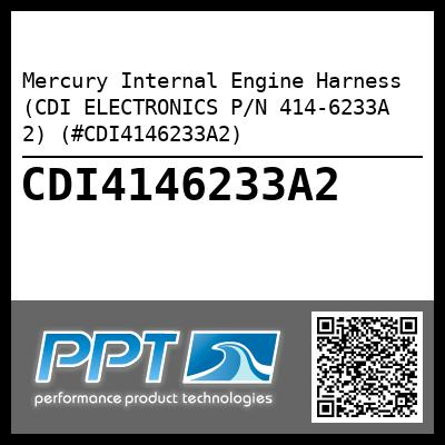 Mercury Internal Engine Harness (CDI ELECTRONICS P/N 414-6233A 2) (#CDI4146233A2) - Click Here to See Product Details