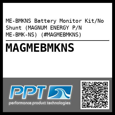 ME-BMKNS Battery Monitor Kit/No Shunt (MAGNUM ENERGY P/N ME-BMK-NS) (#MAGMEBMKNS) - Click Here to See Product Details