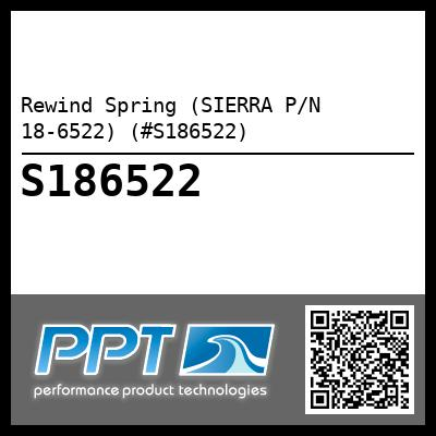 Rewind Spring (SIERRA P/N 18-6522) (#S186522) - Click Here to See Product Details
