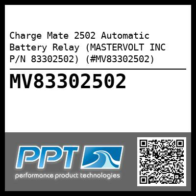 Charge Mate 2502 Automatic Battery Relay (MASTERVOLT INC P/N 83302502) (#MV83302502) - Click Here to See Product Details