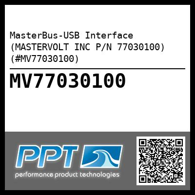 MasterBus-USB Interface (MASTERVOLT INC P/N 77030100) (#MV77030100) - Click Here to See Product Details