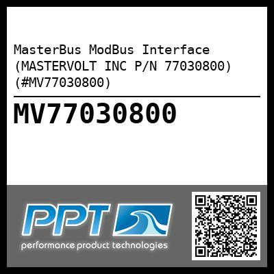 MasterBus ModBus Interface (MASTERVOLT INC P/N 77030800) (#MV77030800) - Click Here to See Product Details