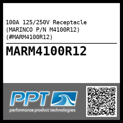 100A 125/250V Receptacle (MARINCO P/N M4100R12) (#MARM4100R12) - Click Here to See Product Details