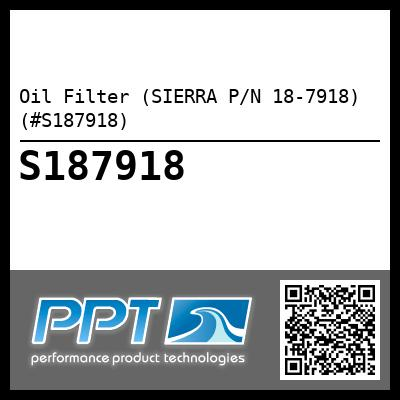 Oil Filter (SIERRA P/N 18-7918) (#S187918) - Click Here to See Product Details