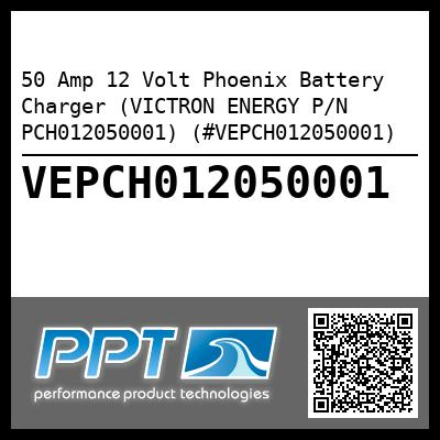 50 Amp 12 Volt Phoenix Battery Charger (VICTRON ENERGY P/N PCH012050001) (#VEPCH012050001) - Click Here to See Product Details