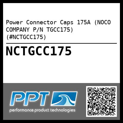 Power Connector Caps 175A (NOCO COMPANY P/N TGCC175) (#NCTGCC175) - Click Here to See Product Details