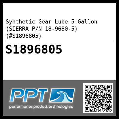 Synthetic Gear Lube 5 Gallon (SIERRA P/N 18-9680-5) (#S1896805) - Click Here to See Product Details