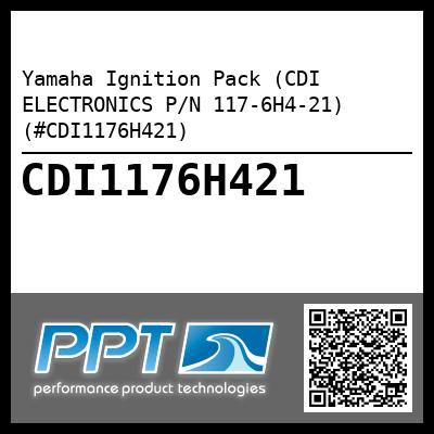 Yamaha Ignition Pack (CDI ELECTRONICS P/N 117-6H4-21) (#CDI1176H421)