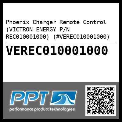 Phoenix Charger Remote Control (VICTRON ENERGY P/N REC010001000) (#VEREC010001000) - Click Here to See Product Details