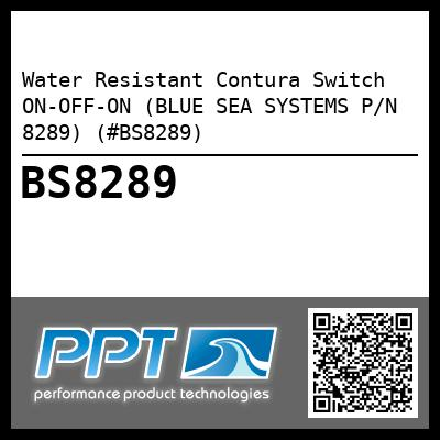 Water Resistant Contura Switch ON-OFF-ON (BLUE SEA SYSTEMS P/N 8289) (#BS8289)