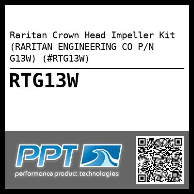 Raritan Crown Head Impeller Kit (RARITAN ENGINEERING CO P/N G13W) (#RTG13W)