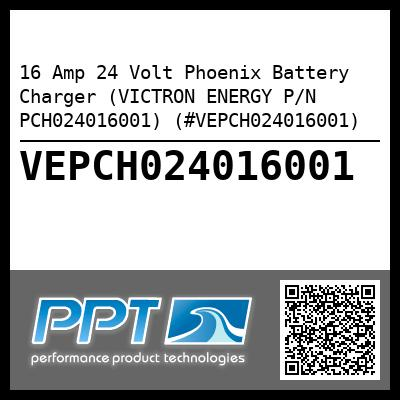 16 Amp 24 Volt Phoenix Battery Charger (VICTRON ENERGY P/N PCH024016001) (#VEPCH024016001) - Click Here to See Product Details