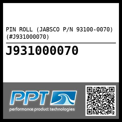 PIN ROLL (JABSCO P/N 93100-0070) (#J931000070)