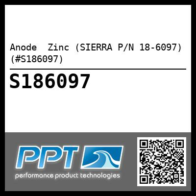 Anode  Zinc (SIERRA P/N 18-6097) (#S186097) - Click Here to See Product Details