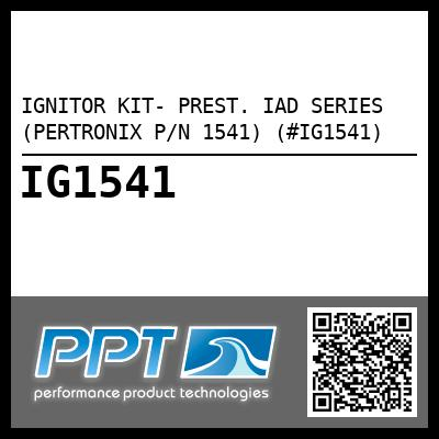 IGNITOR KIT- PREST. IAD SERIES (PERTRONIX P/N 1541) (#IG1541) - Click Here to See Product Details