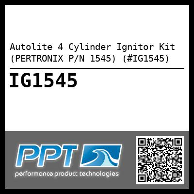Autolite 4 Cylinder Ignitor Kit (PERTRONIX P/N 1545) (#IG1545) - Click Here to See Product Details
