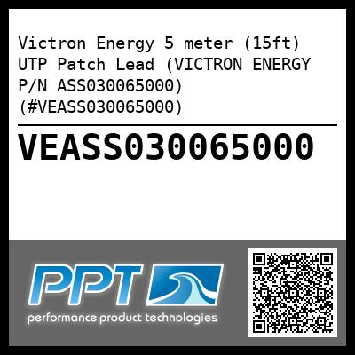 Victron Energy 5 meter (15ft) UTP Patch Lead (VICTRON ENERGY P/N ASS030065000) (#VEASS030065000) - Click Here to See Product Details