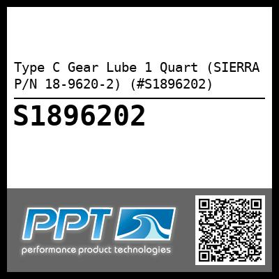 Type C Gear Lube 1 Quart (SIERRA P/N 18-9620-2) (#S1896202) - Click Here to See Product Details