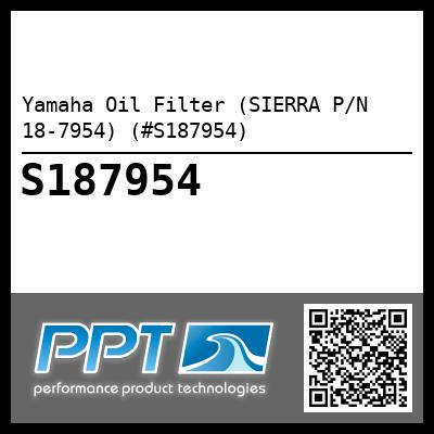Yamaha Oil Filter (SIERRA P/N 18-7954) (#S187954) - Click Here to See Product Details