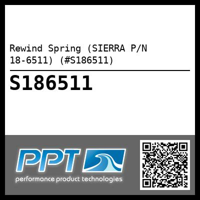 Rewind Spring (SIERRA P/N 18-6511) (#S186511) - Click Here to See Product Details