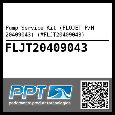 Pump Service Kit (FLOJET P/N 20409043) (#FLJT20409043) - Click Here to See Product Details