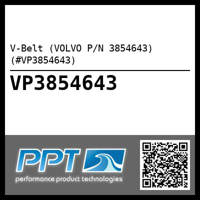 V-Belt (VOLVO P/N 3854643) (#VP3854643) - Click Here to See Product Details