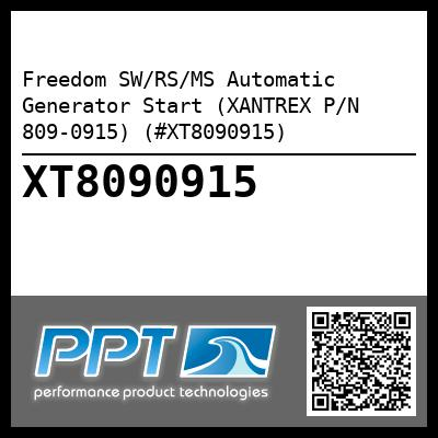 Freedom SW/RS/MS Automatic Generator Start (XANTREX P/N 809-0915) (#XT8090915) - Click Here to See Product Details