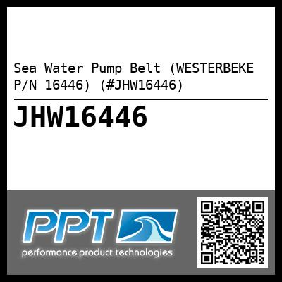 Sea Water Pump Belt (WESTERBEKE P/N 16446) (#JHW16446)