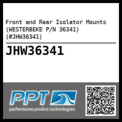 Front and Rear Isolator Mounts (WESTERBEKE P/N 36341) (#JHW36341)