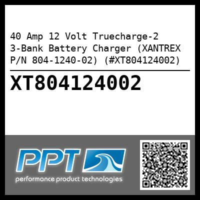 40 Amp 12 Volt Truecharge-2 3-Bank Battery Charger (XANTREX P/N 804-1240-02) (#XT804124002) - Click Here to See Product Details