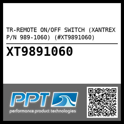 TR-REMOTE ON/OFF SWITCH (XANTREX P/N 989-1060) (#XT9891060)